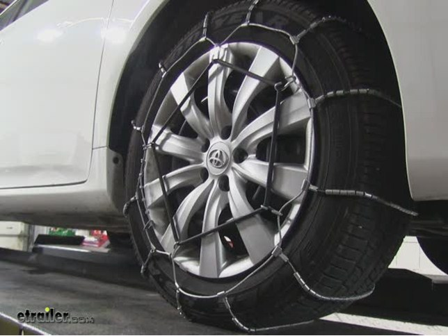 Toyota Corolla Tires >> Glacier Cable Snow Tire Chains 1 Pair