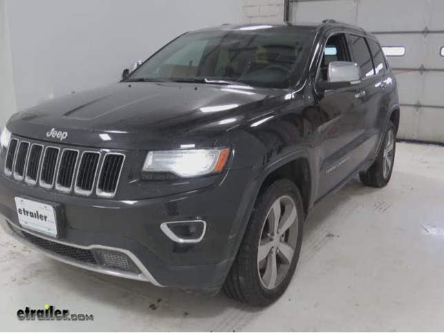 Beautiful Glacier Cable Snow Tire Chains Review   2014 Jeep Grand Cherokee Video |  Etrailer.com