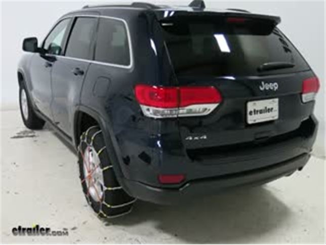 Jeep Grand Cherokee Tires >> Glacier Cable Snow Tire Chains 1 Pair