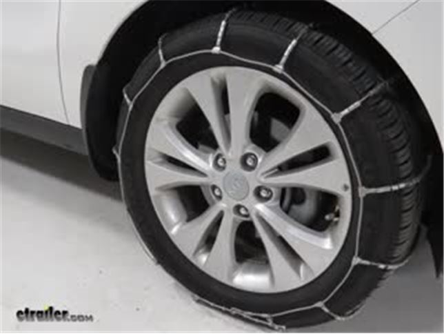 Glacier Cable Snow Tire Chains Review 2016 Kia Soul Video Etrailer