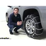 Glacier Twist-Link Snow Tire Chains Installation - 2019 Chevrolet Suburban