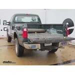 Gooseneck Trailer Hitch Installation - 2011 Ford F-350 Super Duty