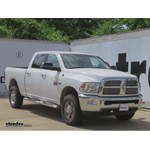 Gooseneck Trailer Hitch Installation - 2012 Ram 2500