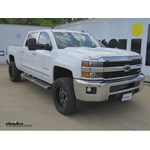 B and W Gooseneck Trailer Hitch Installation - 2015 Chevrolet Silverado 3500