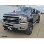 B and W Gooseneck Trailer Hitch Installation - 2011 Chevrolet Silverado