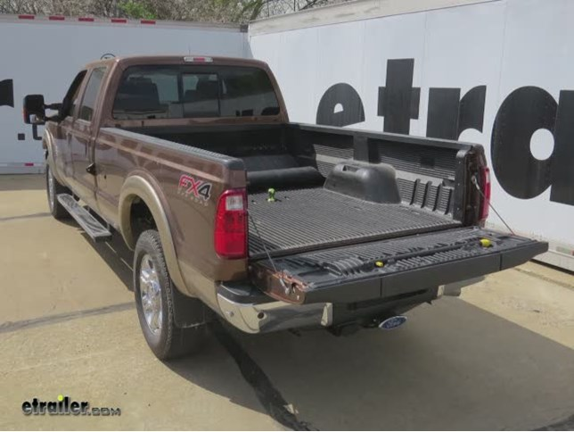 Ford f 250 and f 350 super duty gooseneck hitch etrailer all right today on this 2012 ford f 350 super duty were going to show you the bw turnover underbed gooseneck trailer hitch with the custom install kit freerunsca Images