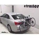 Hollywood Racks Expedition Trunk Bike Rack Review - 2013 Chevrolet Malibu