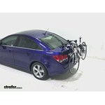 Hollywood Racks Expedition Trunk Bike Rack Review - 2013 Chevrolet Cruze