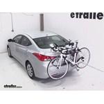 Hollywood Racks Expedition Trunk Bike Rack Review - 2013 Hyundai Elantra