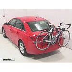 Hollywood Racks Baja 2 Trunk Bike Rack Review - 2014 Chevrolet Cruze