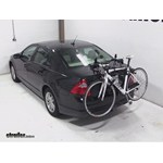Hollywood Racks Expedition Trunk Bike Rack Review -  2012 Ford Fusion