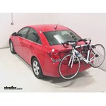 Hollywood Racks Expedition Trunk Bike Rack Review - 2014 Chevrolet Cruze