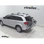 Hollywood Racks Expedition Trunk Bike Rack Review - 2014 Dodge Journey