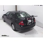 Hollywood Racks Gordo 2 Bike Carrier Review - 2012 Ford Fusion