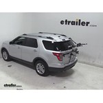 Hollywood Racks Gordo 2 Bike Carrier Review - 2013 Ford Explorer