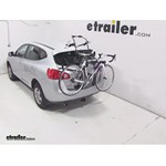 Hollywood Racks Over-the-Top Bike Rack Review - 2013 Nissan Rogue