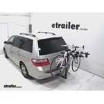 Hollywood Racks Traveler 5 Hitch Bike Rack Review - 2006 Honda Odyssey