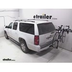 Hollywood Racks Traveler 5 Hitch Bike Rack Review - 2014 Chevrolet Suburban