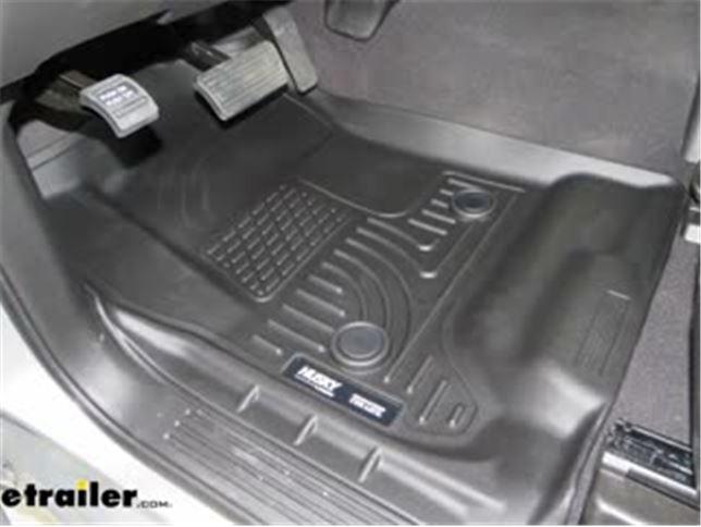 Husky Liners Weatherbeater Front Floor Liner Review 2019 Chevrolet Silverado 1500 Video Etrailer Com