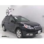 Inno Multi-Fork Lock Bike Rack Review - 2012 Subaru Outback Wagon