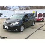 K Source Universal Clip-On Towing Mirror Installation - 2015 Toyota Sienna