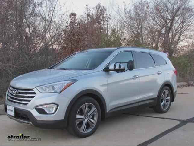 K Source Universal Clip On Towing Mirror Installation   2014 Hyundai Santa  Fe Video | Etrailer.com