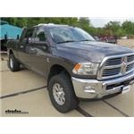 K Source Universal Clip-On Towing Mirror Installation - 2014 Ram 3500
