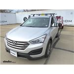 K Source Universal Clip-On Towing Mirror Installation - 2016 Hyundai Santa Fe