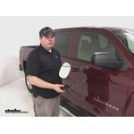 K Source Universal Clip-On Towing Mirror Installation - 2014 Chevrolet Silverado 1500