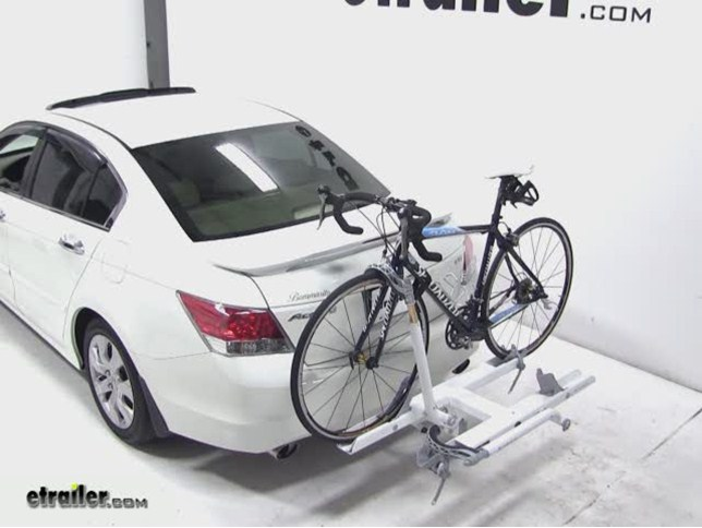 Good Kuat Sherpa Hitch Bike Rack Review   2010 Honda Accord Video | Etrailer.com