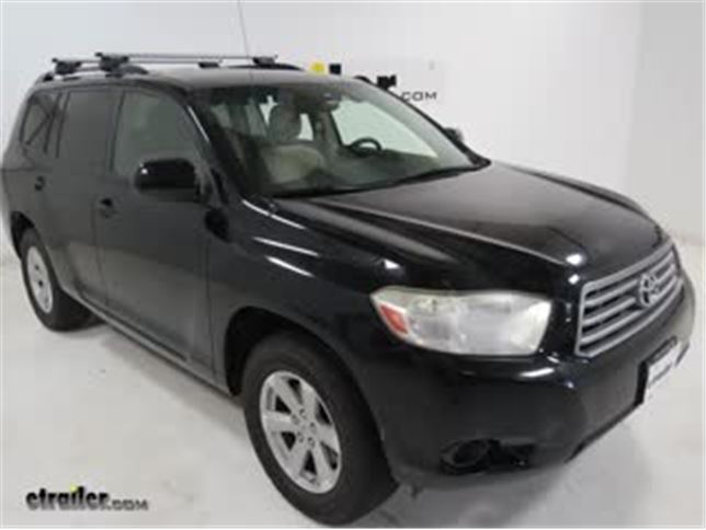 Malone AirFlow2 Universal Roof Rack Installation   2008 Toyota Highlander  Video | Etrailer.com