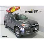 Malone DownLoader J-Style Kayak Carrier Review - 2012 Toyota 4Runner