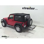 MaxxTow Hitch Cargo Carrier Review - 2013 Jeep Wrangler