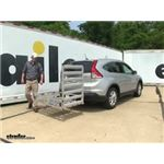 MaxxTow Hitch Cargo Carrier Review - 2014 Honda CR-V