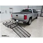 MaxxTow Hitch Cargo Carrier Review - 2015 Chevrolet Silverado 1500