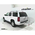 MaxxTow Aluminum Hitch Cargo Carrier Review - 2014 Chevrolet Tahoe