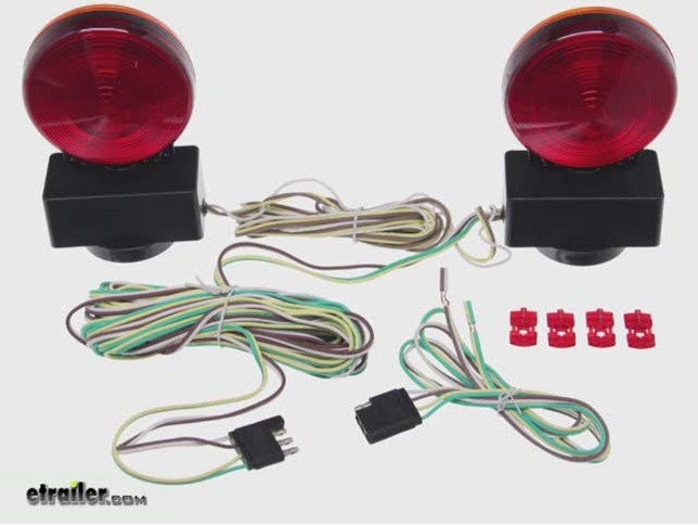 install maxxtow magnetic light mt70097_644 maxxtow magnetic tow lights installation video etrailer com magnetic towing lights wiring diagram at bayanpartner.co