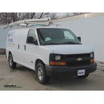 Michelin RainForce Wiper Blades Installation - 2006 Chevrolet Express Van