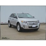 Tow Ready 4-Pole Mount Bracket Installation - 2013 Ford Edge