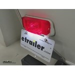 Optronics RV Combination Drivers Side Tail Light Installation