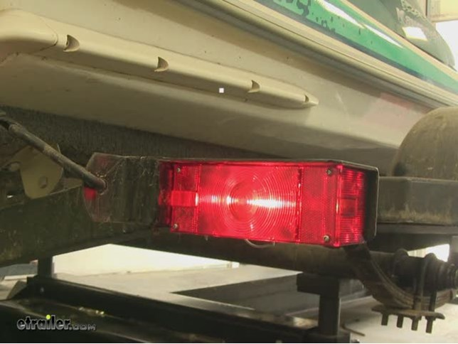 Optronics Combination Trailer Tail Light - Submersible - 7 Function on