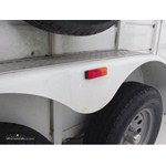 Optronics Sealed Thin Line Fender Trailer Clearance Light Installation