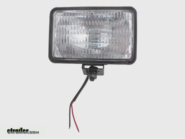 Guide Tractor Lights : Quot rectangular tractor and utility light w
