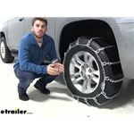 Pewag Snow Tire Chains Installation - 2019 Chevrolet Suburban