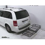 Pro Series Hitch Cargo Carrier Review - 2010 Chrysler Town and Country