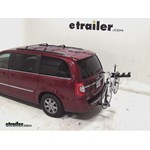 Pro Series Eclipse 4 Hitch Bike Rack Review - 2013 Chrysler Town and Country