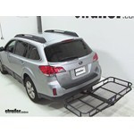 Pro Series Hitch Cargo Carrier Review - 2012 Subaru Outback Wagon