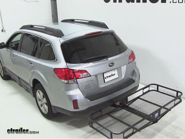 pro series hitch cargo carrier review subaru outback wagon