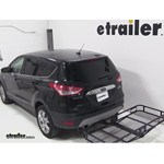 Pro Series Hitch Cargo Carrier Review - 2013 Ford Escape