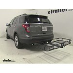Pro Series Hitch Cargo Carrier Review - 2014 Ford Explorer